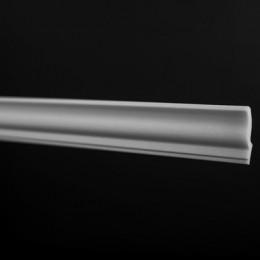 Плинтус потолочный ЛАГОМ 06015Е экструзионный*