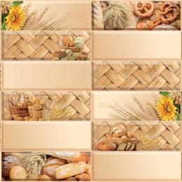 Декоративные панели мозаика Плитка Хлебная корзина 955*480 мм