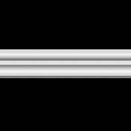 Плинтус потолочный ЛАГОМ 03502E экструзионный*