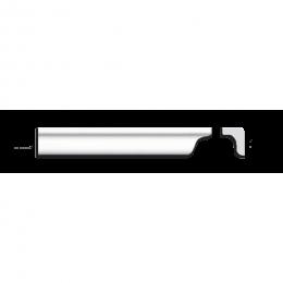 Экструдированный плинтус АМ-25