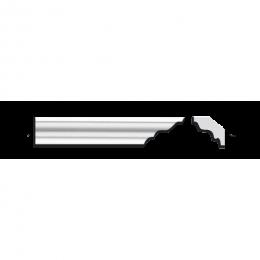 Экструдированный плинтус АМ-35