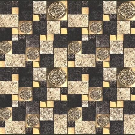 Декоративные панели мозаика 2 Квадрата Поталь 595*595 мм