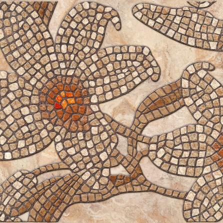 Декоративные панели мозаика Каменный цветок коричневый 960*480 мм