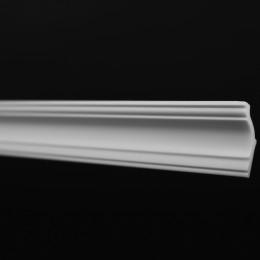 Плинтус потолочный ЛАГОМ 08018Е экструзионный