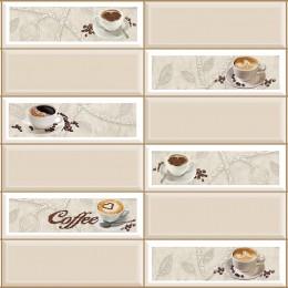 Декоративные панели мозаика Плитка Кофейный Экспресс 955*480 мм
