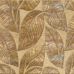 Декоративные панели мозаика Листья коричневые 960*480 мм