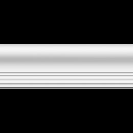 Плинтус потолочный ЛАГОМ 06013Е экструзионный